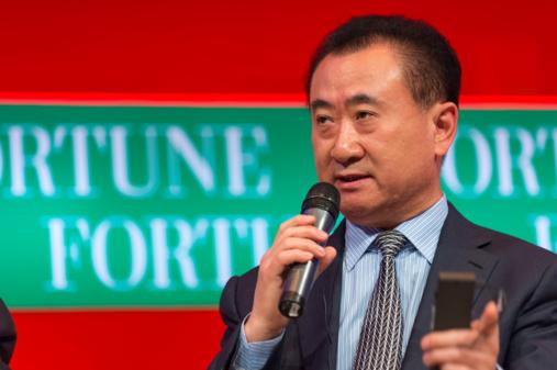 Wang Jianlin, Chairman, Dalian Wanda Group. Photo by Fortune Live Media via flickr
