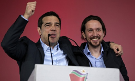 The Rise of Left in Spain
