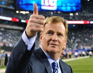 Is the fate of the NFL tied to that of Roger Goodell's?