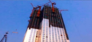 Chinese Built a Skyscraper in 19 Days