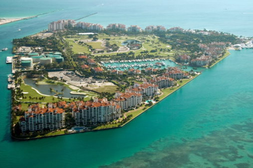 An Island near Miami, US, Where Every Resident is a Millionaire