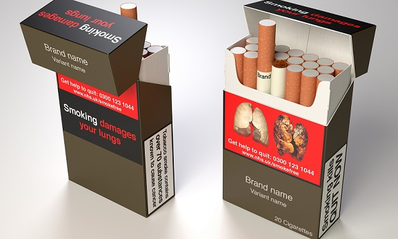 UK To Impose Plain Packaging of Cigarette