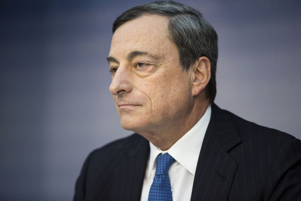 ECB President Mario Draghi (Photo by Martin Leissl/Bloomberg)