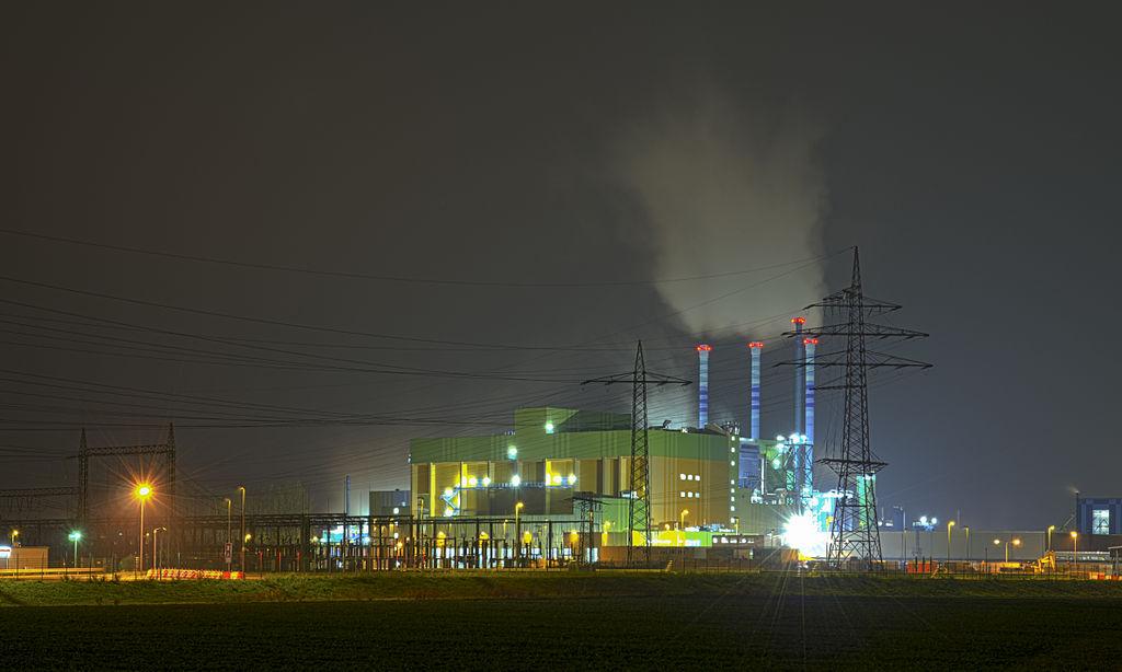 Waste incineration plant, Industry park Höchst, Hesse, Germany (CC Licence)