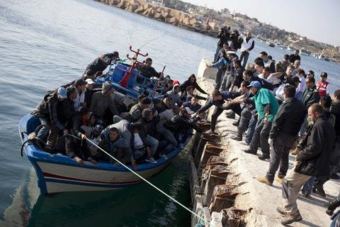 Refugees from war torn Syria and crisis laden Greece pour into EU