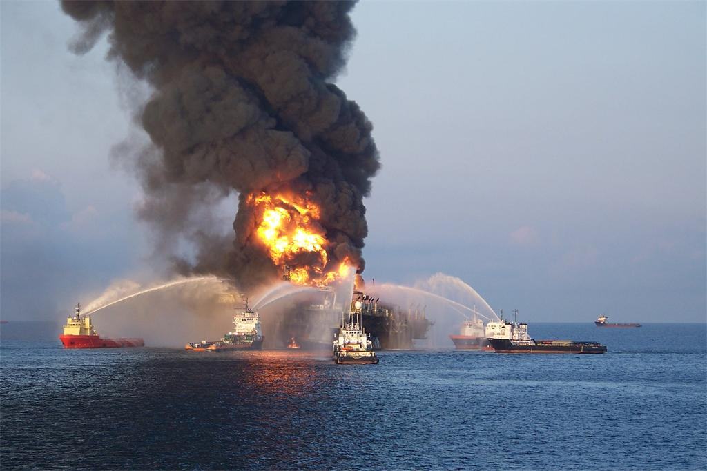 BP to Pay a Record Fine for Oil Spill