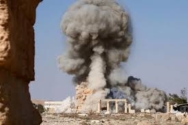 ISIS Millitant Demolish 2000 Year old Temple in Palmyra, Syria