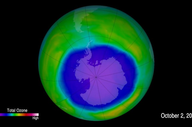 Ozone Hole Over Antarctica Continues To Grow In Size
