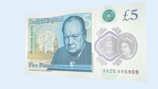 The UK's New £5 Note is Not Making Vegetarians Happy