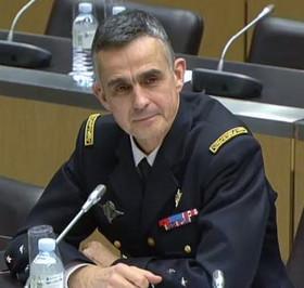 Four-star General Bertrand Soubelet