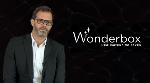 Fabrice Lépine, Wonderbox's CEO