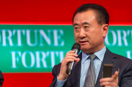Wang Jianlin, Chairman, Dalian Wanda Group. Photo by Fortune Live Media via flickr