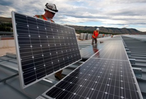U.S. trade panel to vote on domestic price of U.S. solar panels