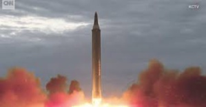 U.S. Capital Washington Appears To Be In Range Of The Latest Missile Launched By North Korea