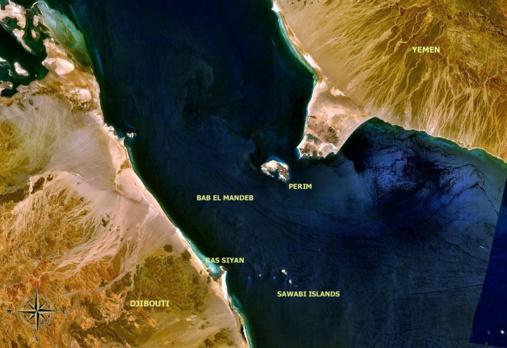 Saudi Arabia suspends oil exports through the Bab-el-Mandeb strait