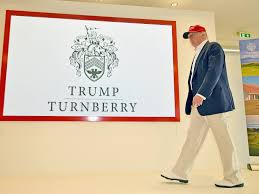 Disappointing Profits In 2017 Generated By Donald Trump's Turnberry Golf Resort In Scotland