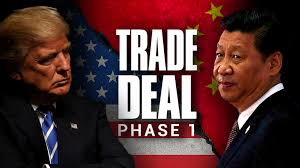 Chinese Vice Premier Liu Will Sign Sino-US Phase One Trade Deal In Washington Next Week