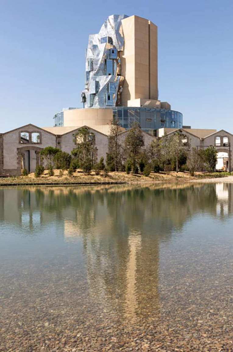 Luma Arles, Parc des Ateliers, Frank Gehry's tower, May 2021. Adrian Deweerdt