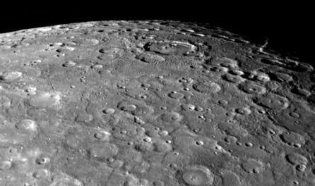 Mercury Surface Turned Black