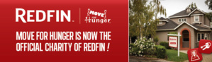 Redfin's collaboration with Move For Hunger optimises the process of changing houses