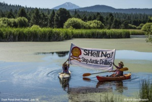 Arctic Oil Exploration Meets With Protest