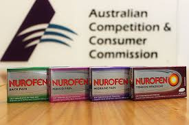 Nurofen's Maker Ordered to Recall Products from Retail Shelfs in Australia after Company Concedes to Misleading Consumers