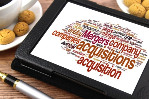 M&A deals reached an eigth-year record