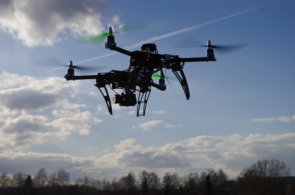 New Technology Allows Drones To Be Indefinitely Airborne