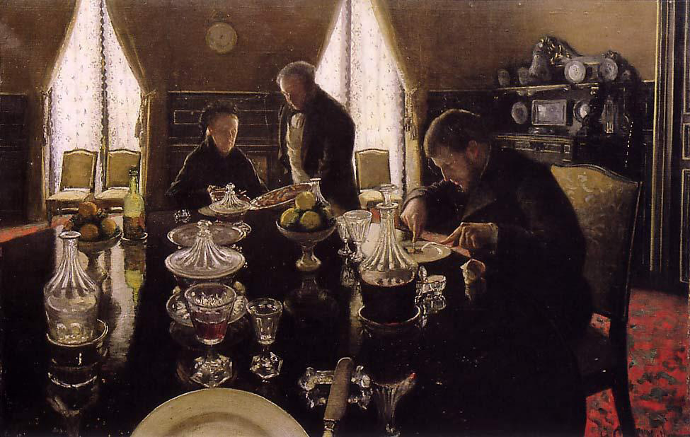 Gustave Caillebotte, Le Déjeuner (Luncheon), classified as a national treasure in February 2020, private collection.