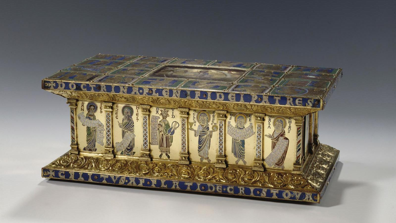Guelph Treasure : reliquary from the Brunswick Cathedral in Braunschweig, Germany. © Berlin Museums, Museum of Decorative Arts / Jürgen Liepe