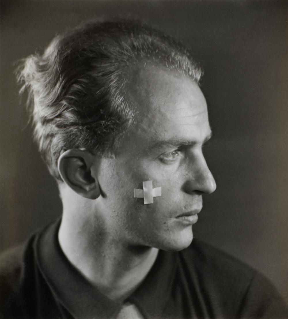 Wols (Alfred Otto Wolfgang Schulze), Self Portrait, c. 1936 (detail). Sold €2,500 in Paris (Art Richelieu, June 15, 2011).