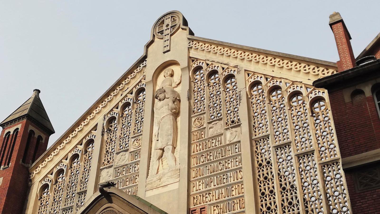 Church of Saint-Christophe-de-Javel, Paris, 16th arrondissement. ARR