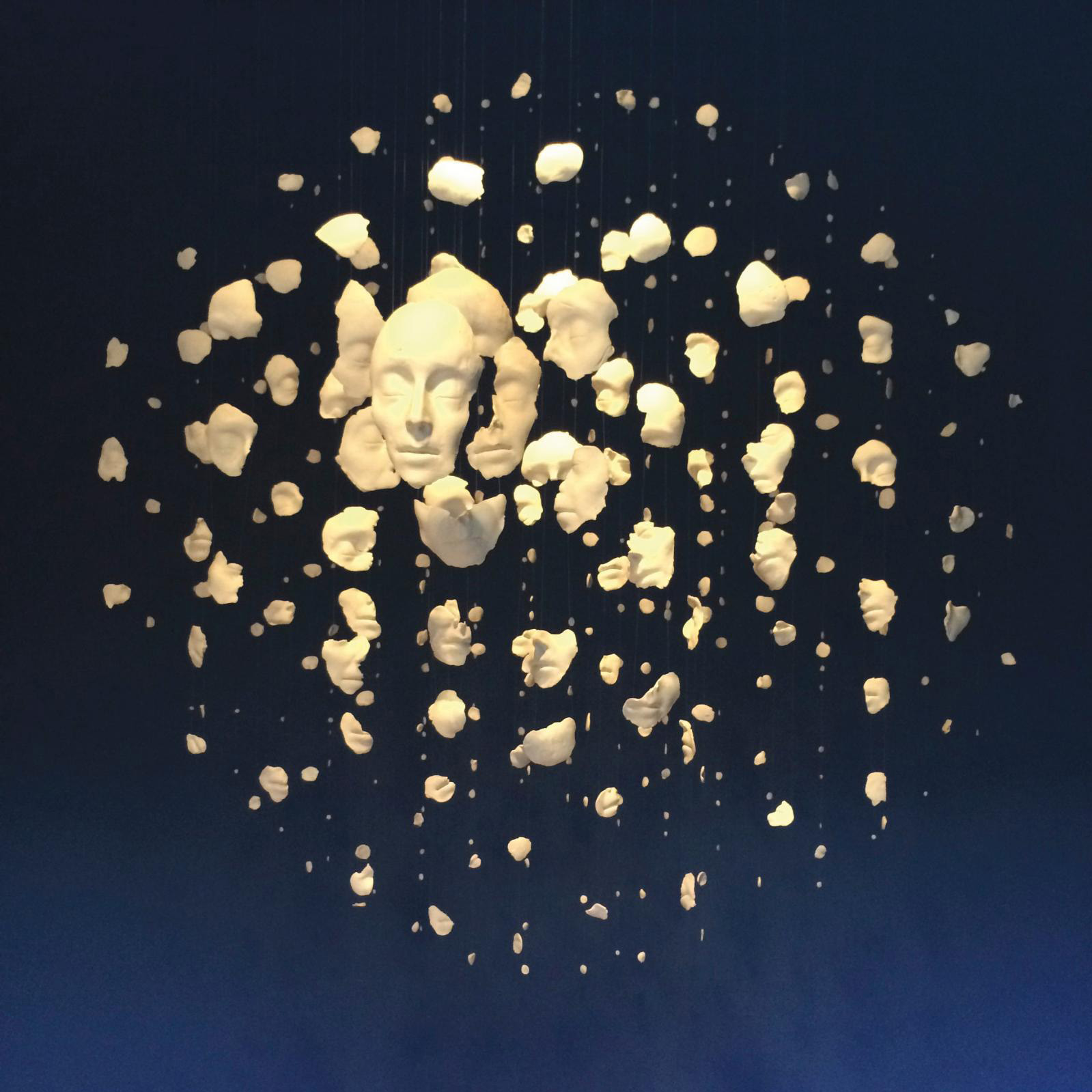 Samuel Yal, Dissolution, ceramic, 180 x 180 x 180 cm (70.86 x 70.86 x 70.86 in), 2012. Courtesy Galerie La Forest Divonne and Fondation Boghossian - Villa Empain