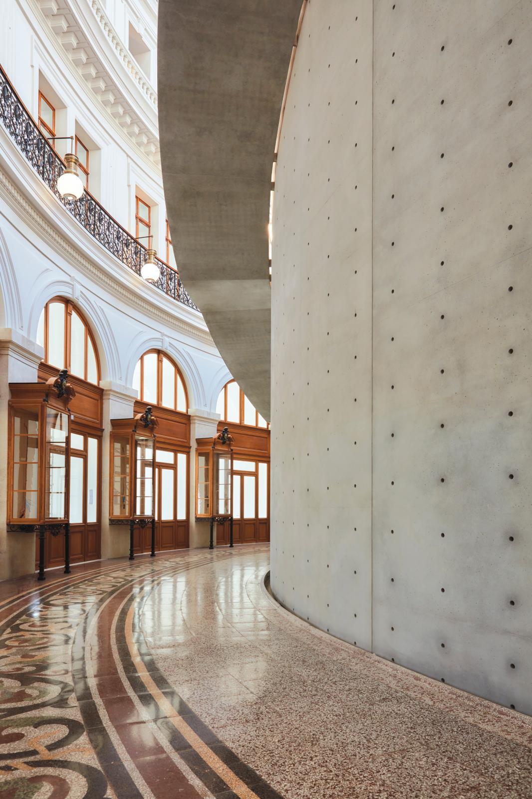 Bourse de Commerce - Pinault Collection Tadao Ando Architect & Associates, Niney & Marca Architectes, Agence Pierre-Antoine Gatier. Photo: Marc Domage