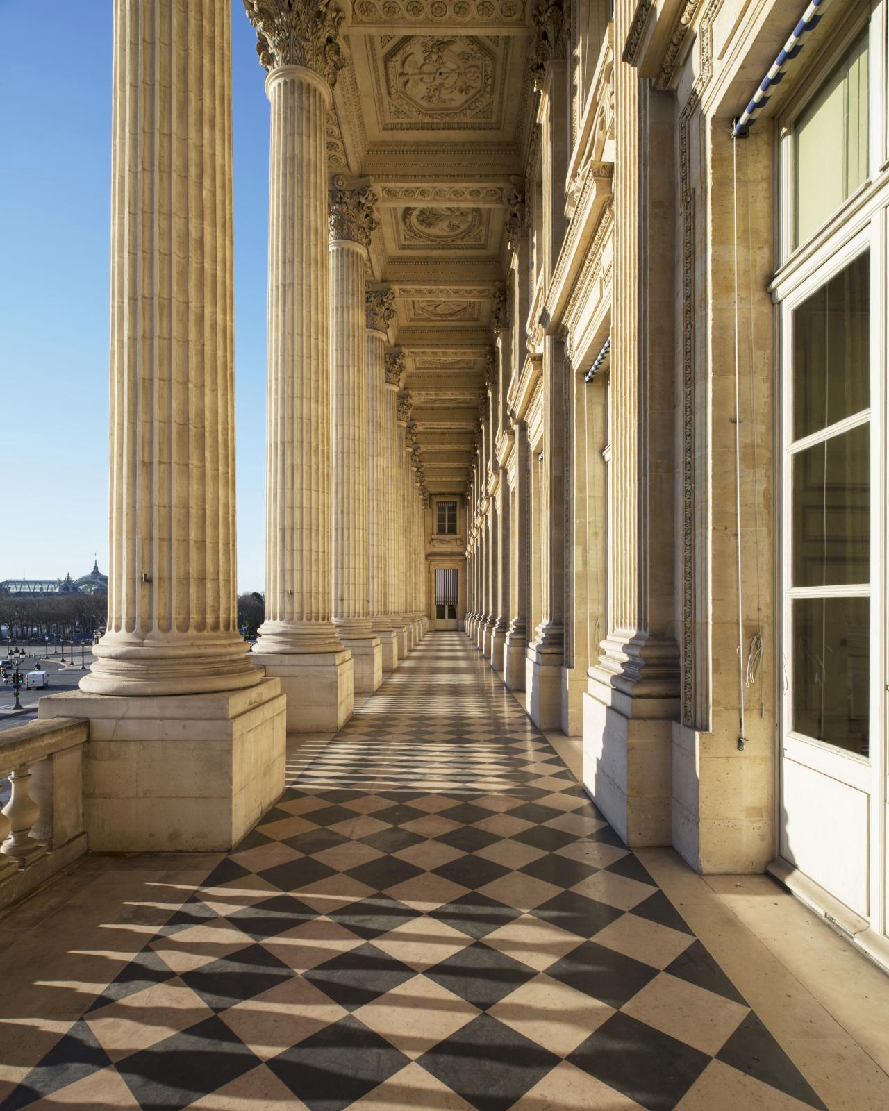 Loggia, Hôtel de la Marine. © Ambroise Tézenas CMN