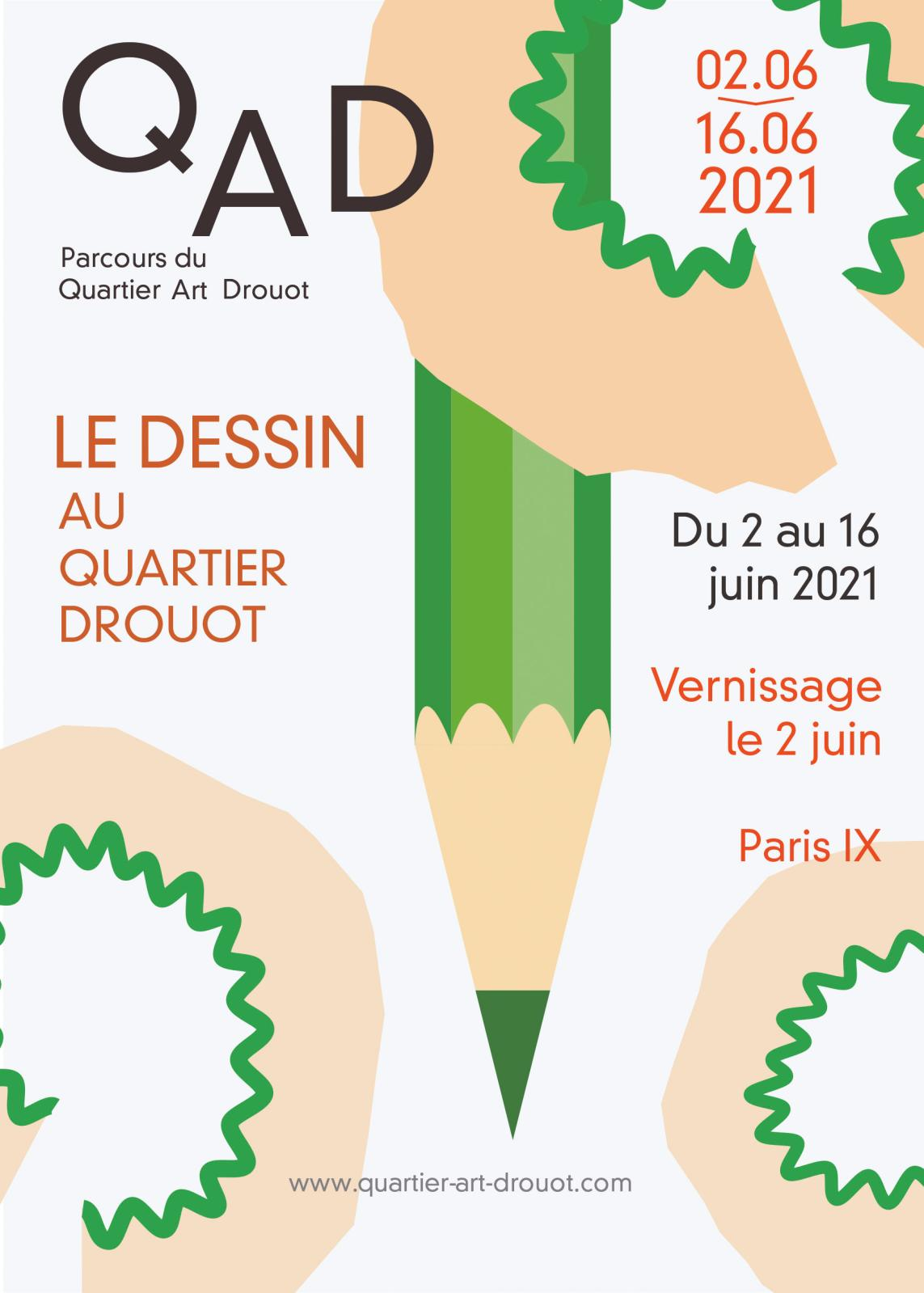 The 20th Edition of Quartier Art Drouot Spotlights Drawing
