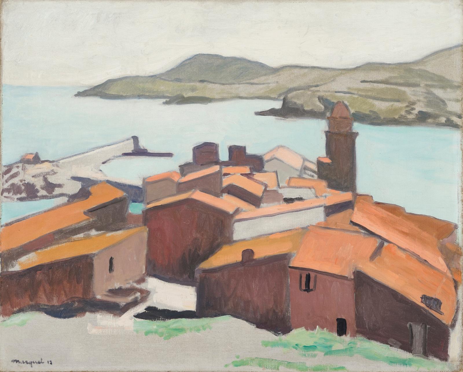 Albert Marquet (1975-1947), Collioure, 1912, oil on canvas, 65 x 61 cm/25.6 x 24 in. Estimate: €70,000/120,000
