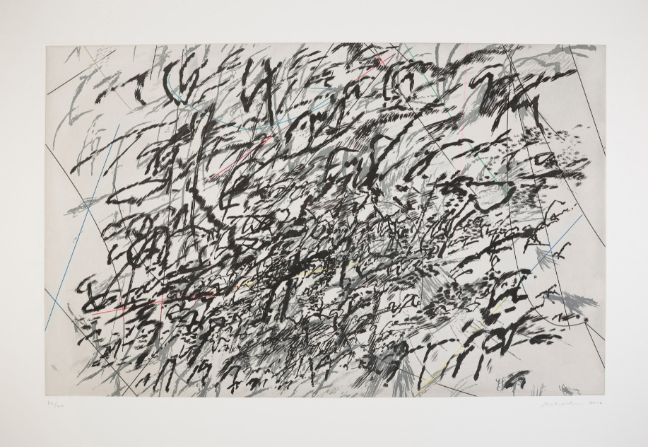 Her aquatint Achilles (2015) sold for $50,000 at Christie's on May 14.