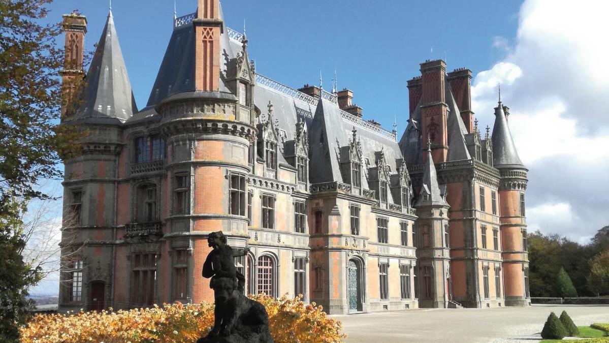 Le château de Trévarez © Emma Guillou / CDP29