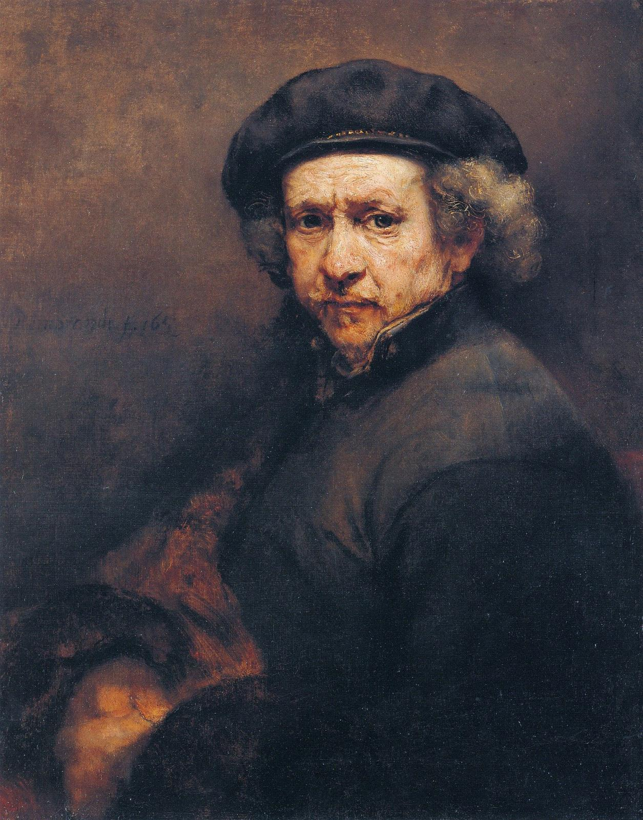 """Self-Portrait"" (Rembrandt)"