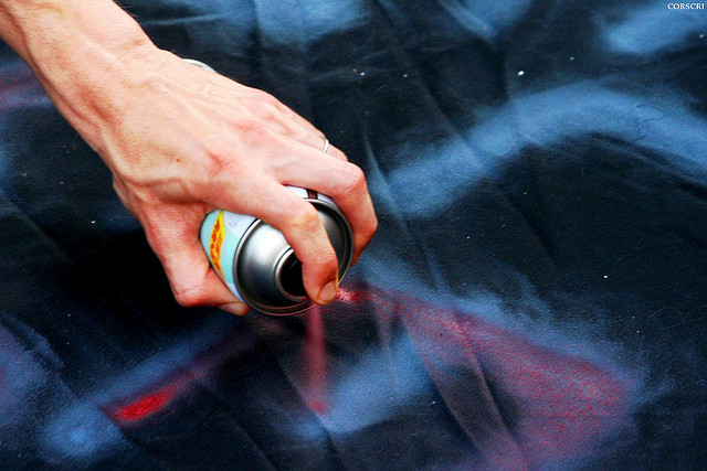 Spray Paint Technology bids to save cyclists' lives