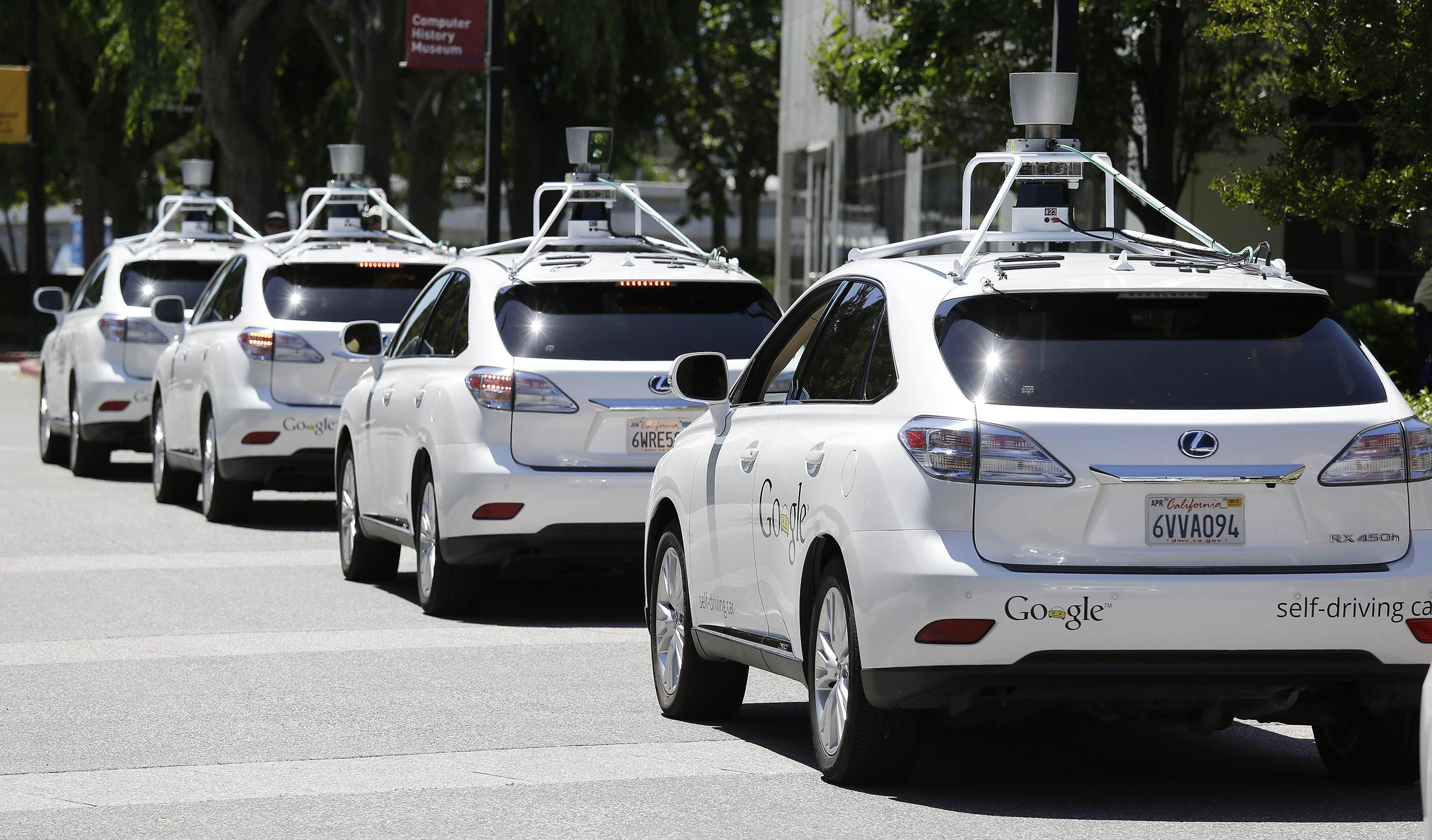 Get Ready for Google's Self-Driven Car