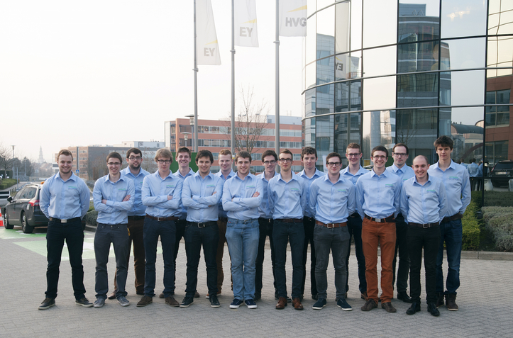 Cromax and Punch Powertrain Solar Team Partnership for Belgium Solar Car