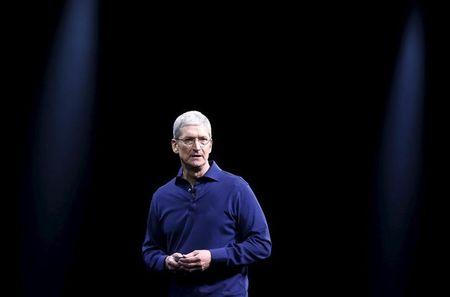 The C.E.O of Apple 'Reassures' The Agitated Investors As Chinese Stock Market Slumps