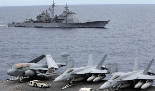 Land Reclamation of China Lets U.S Increase Its Military Drills