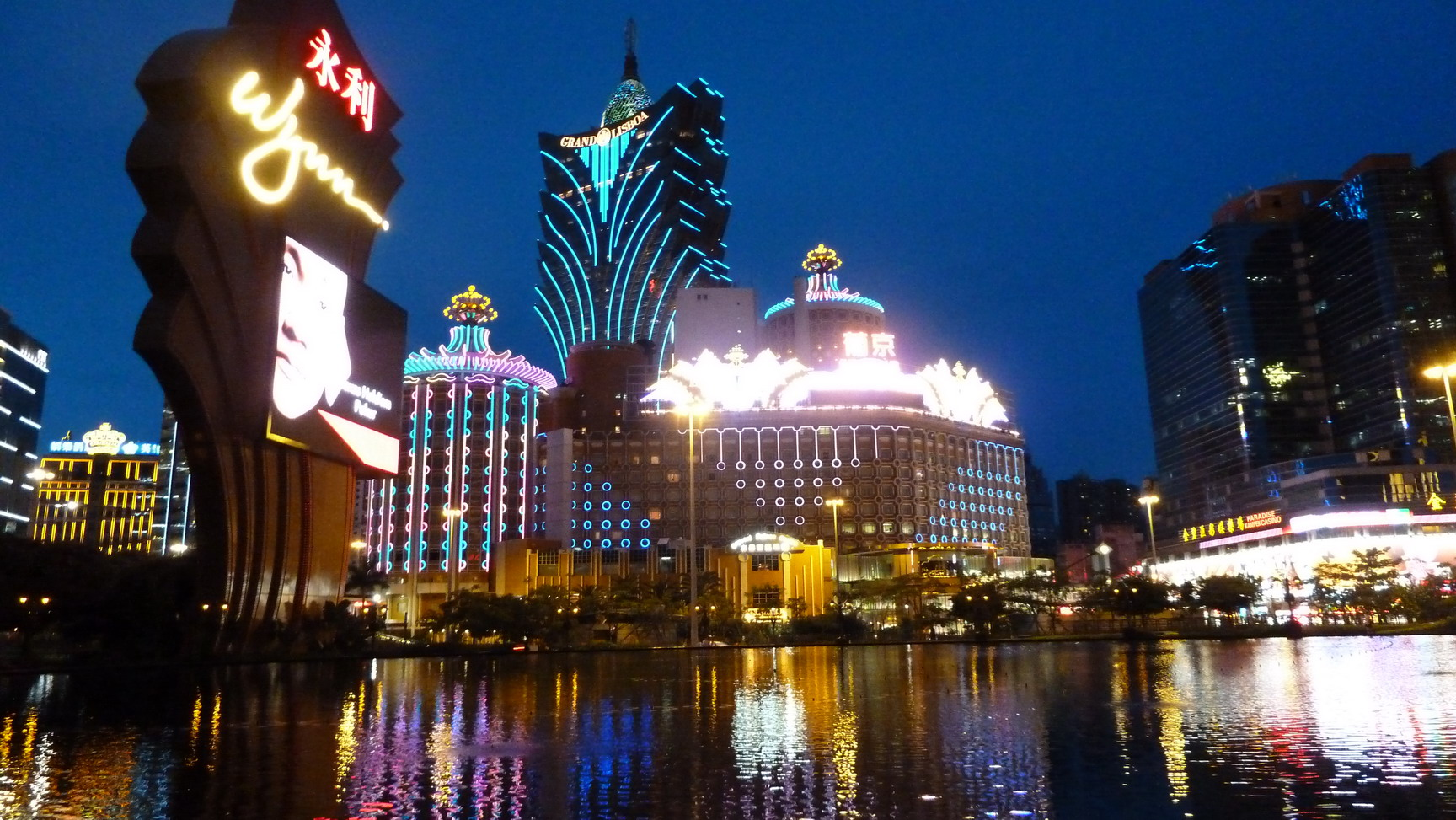 The Miracle of Macao: GDP Fell by 26%? Alright!