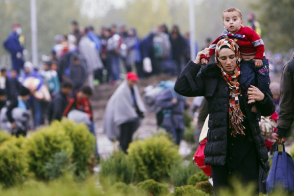 Migrants Forcefully Attempt To Enter Slovenia