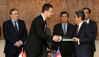 Cambodia Signs An Agreement With Hungary For Mutual Investment