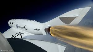 Space Race Back for Branson's Virgin Galactic