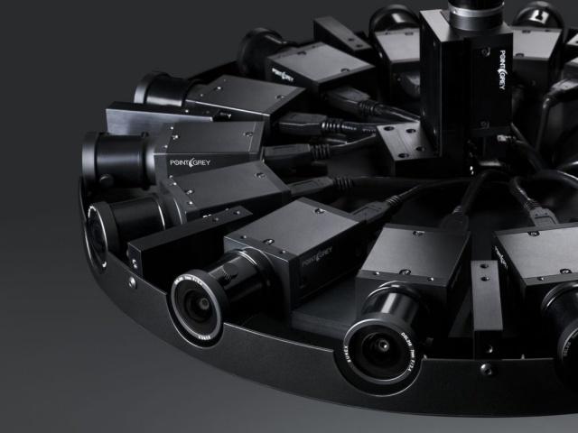 Facebook presented a VR camera